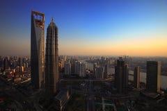 Changhaï aujourd'hui Images libres de droits