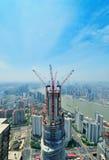 Changhaï en se développant Photos libres de droits