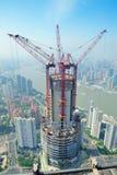 Changhaï en se développant Images stock