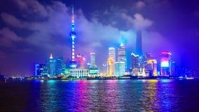 Changhaï, paysage urbain de la Chine banque de vidéos