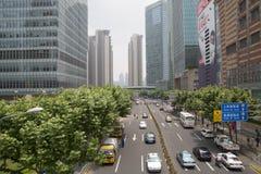 Changhaï Pudong photo libre de droits
