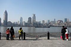 Changhaï waitan Image libre de droits