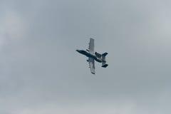 Changi, Σιγκαπούρη - 6.2010 FEB: USAF α-10 κεραυνός ΙΙ μαχητής Στοκ Φωτογραφίες