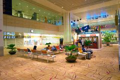 Changi Aiport Foto de Stock