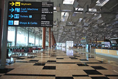 Changi Airport. Internal of the Changi Airport,singapore Royalty Free Stock Images