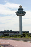 Changi Airport Control Tower Royalty Free Stock Images