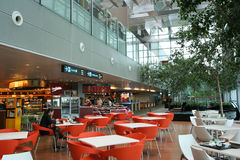 Changi Airport Dining Area Stock Photography