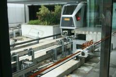 Changi Airport. Airport Raillink, changi airport Stock Photography