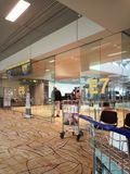 departure gates stock photography