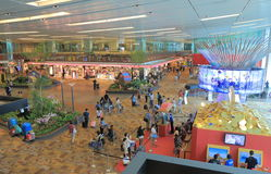 Changi Airport Singapore Royalty Free Stock Photos