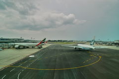 Changi airport. Singapore Stock Photography