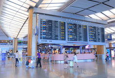 Changi Airport Singapore Royalty Free Stock Photo