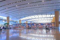 Changi Airport Singapore Royalty Free Stock Photography
