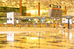 Changi Airport Terminal 3 Royalty Free Stock Photo