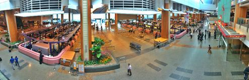 Changi airport terminal 2 interior Stock Photo