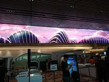 Changi airport Terminal 4 Open House Stock Photos