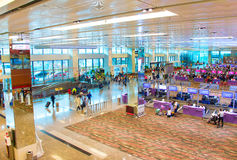 Changi Airport terminal overview, Singapore Stock Photos