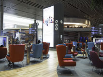 Changi Airport Terminal 4, Singapore Royalty Free Stock Photos