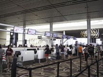 Changi Airport Terminal 4, Singapore Royalty Free Stock Images