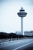 Changi control tower Stock Image