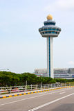 Changi control tower Stock Photo