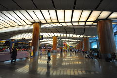 changi för 2 flygplats interior singapore Royaltyfri Fotografi