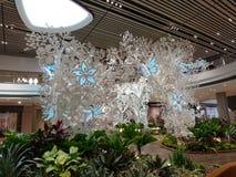 Changi-Flughafenabfertigungsgebäude 4 offenes Haus Lizenzfreie Stockfotos