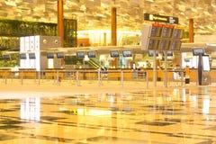 Changi flygplatsterminal 3 Royaltyfri Foto
