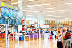 Changi International Airport Royalty Free Stock Photo