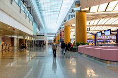 Changi International Airport which is located in Singapore. Stock Photography