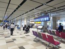 Changi lotnisko międzynarodowe, Terminal 4 Fotografia Royalty Free