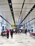 Changi lotnisko międzynarodowe, Terminal 4 Obraz Royalty Free