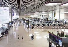 Changi lotnisko międzynarodowe, Terminal 4 Zdjęcie Royalty Free