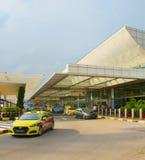 Changi Lotniskowego terminal taxi, Singapur Zdjęcia Stock