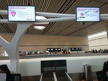 Changi Lotniskowy Terminal 4 Zdjęcia Royalty Free