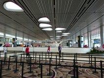 Changi Lotniskowy Terminal 4 Obrazy Stock