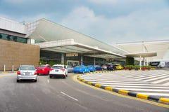 Changi Lotniskowy terminal, Singapur Zdjęcia Stock