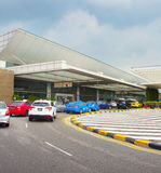 Changi Lotniskowy terminal, Singapur Fotografia Stock