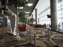Changi Lotniskowy Terminal 4, Singapur Obrazy Royalty Free
