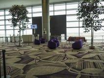 Changi Lotniskowy Terminal 4, Singapur Zdjęcie Royalty Free