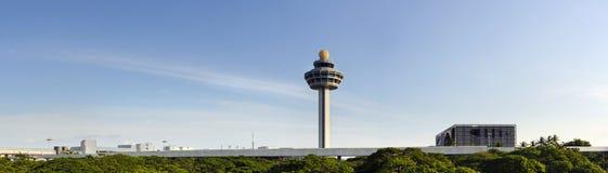 Changi luchthaven royalty-vrije stock fotografie