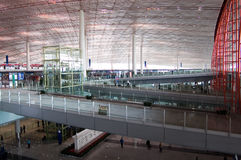 Changi Luchthaven T3 Royalty-vrije Stock Foto