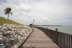 Changi Point Coastal Walk Stock Photo