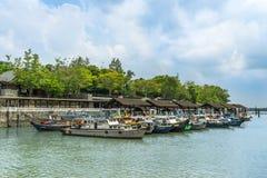 Changi promu Terminal Fotografia Stock