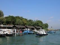 Changi promu Terminal Zdjęcie Royalty Free