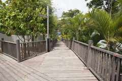 Changi punktu Boardwalk fotografia royalty free