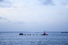 Changi punktu plaża zdjęcie royalty free
