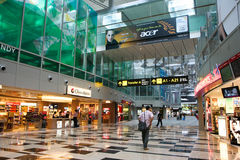 changi shopping royaltyfria foton