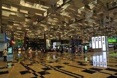 changi singapore för 3 flygplats terminal Royaltyfria Bilder