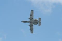 Changi, Singapour - fév. 6,2010 : Coup de foudre II de l'U.S. Air Force A-10 Photo stock